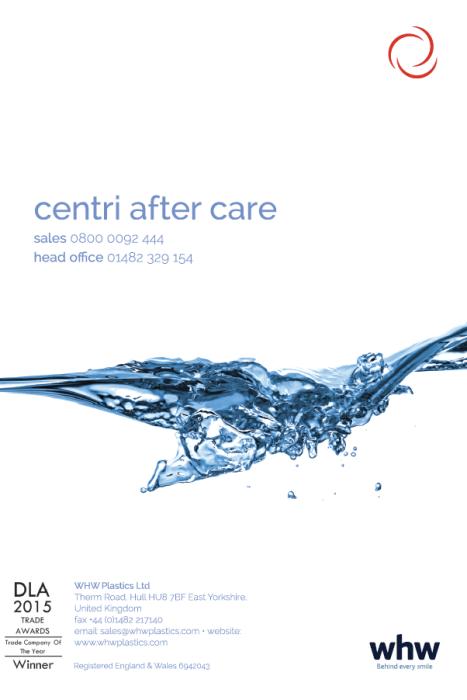 Centri after care brochure