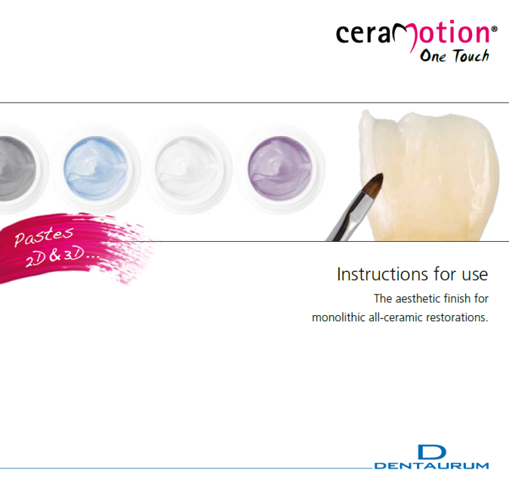 Ceramotion One Touch Kit Brochure