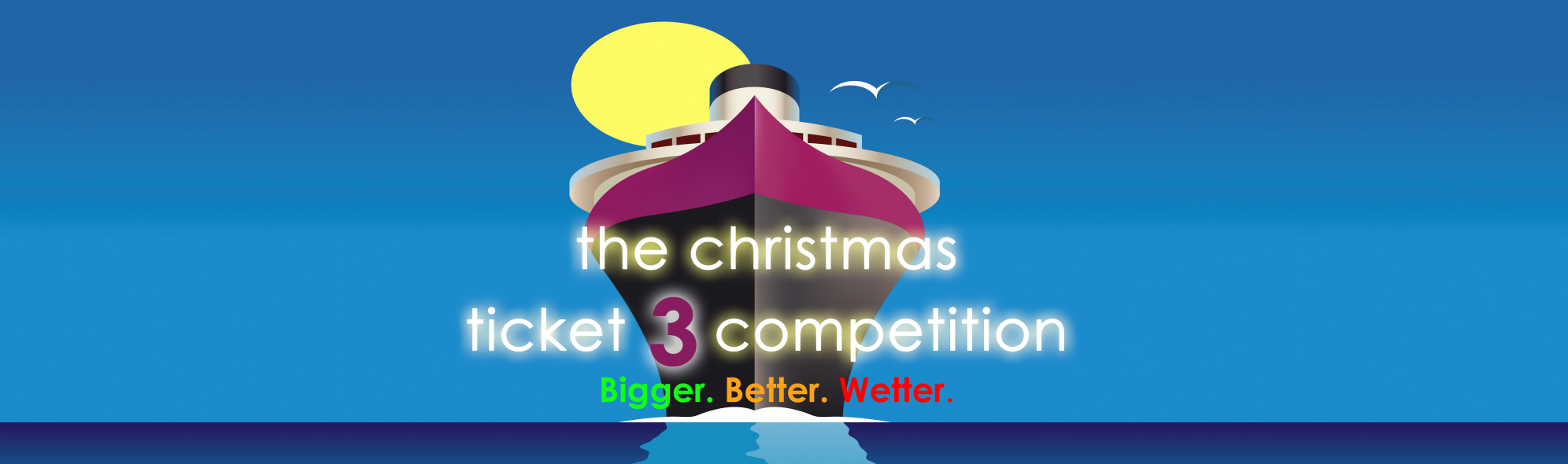 The Christmas ticket 3 competition